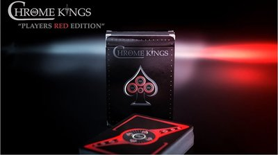 【USPCC 撲克】S103049120 Chrome Kings Limited Edition Playing Card