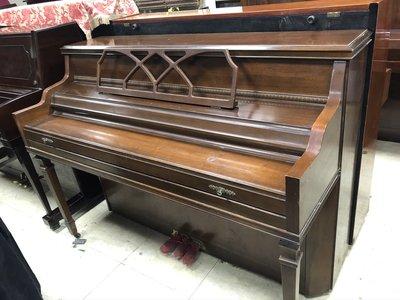 【疫情期間特價】美國中古琴波Kimball piano鋼琴 胡桃木色 古色古香 美國廠原裝進口