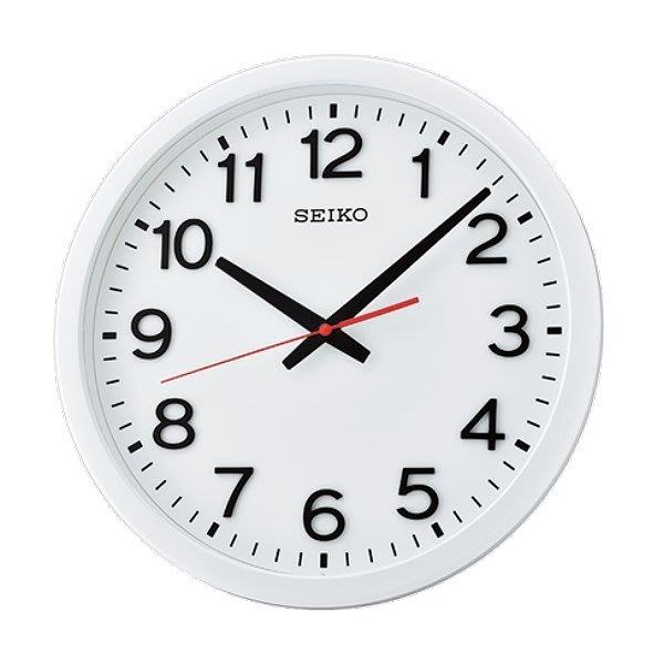 《《 PT屏信時計 》》 日本 精工 SEIKO 精緻 典雅 靜音 時鐘 掛鐘 QXA732W、QXA 732 (白面)