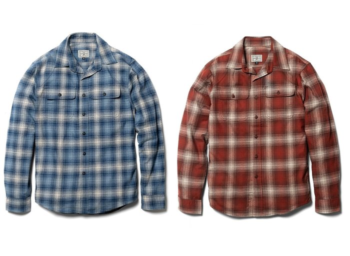 { POISON } RETRODANDY FLANNEL SHIRT 老式法蘭絨格紋長袖襯衫