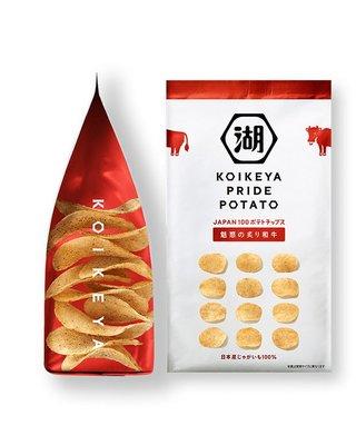 【小糖雜貨舖】日本 湖池屋 馬鈴薯 洋芋片 零食 - 炙燒和牛