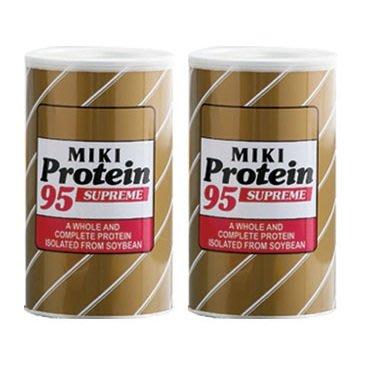 2罐 (比會員便宜) MIKI天然大豆蛋白95 含有大豆異黃酮素 松栢總代理 (最新效期2022.2.17)