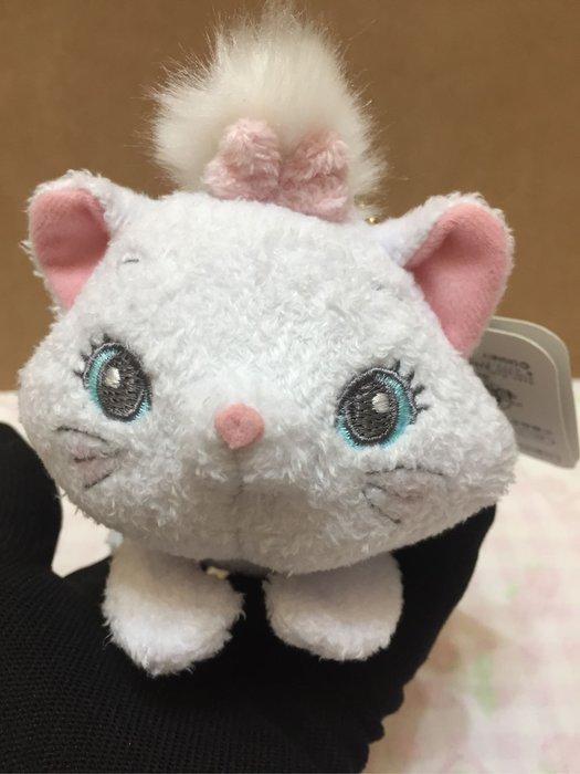 [變身館日本服飾]~Disney~迪士尼~絨毛~娃娃~掛飾~吊飾~瑪麗貓~日本購入~全新現品~玩具~會扭動
