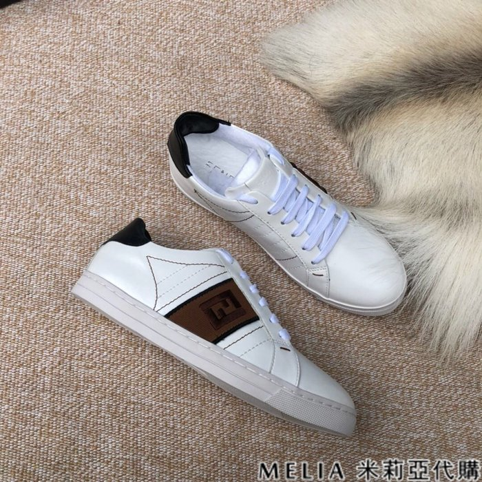 Melia 米莉亞代購 商城特價 數量有限 每日更新 FENDI 女神款 小白鞋 經典款 鳶尾鞋 刺繡雙F