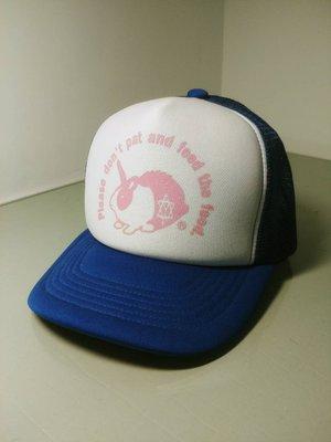 AYA 卡車司機帽 網帽 兔子 藍 白 粉 遮陽