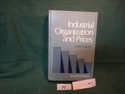 【愛悅二手書坊 H21-57】Industrial Organization and Prices