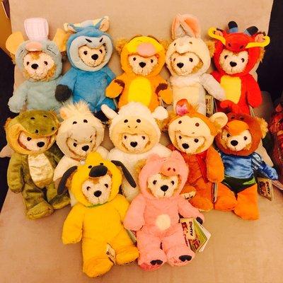 上海迪士尼限定12生肖達菲熊Duffy(現貨)