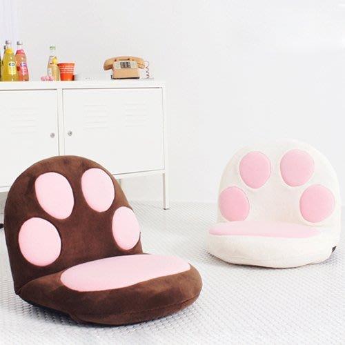 【奇滿來】榻榻米卡通可愛 貓爪造型 貓肉球 沙發 懶人沙發 單人日式 地板墊 地板椅 日式椅 AVAO