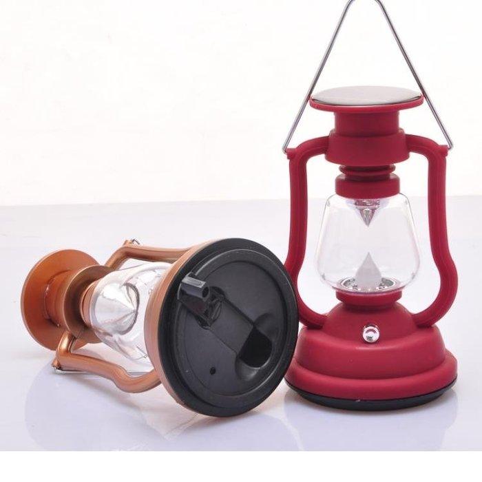 戶外露營燈LED野營燈太陽能可充電帳篷燈