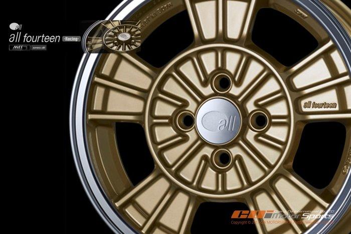 ENKEI  All Fourteen-Racing 16吋 6.5J 4x100 / 歡迎詢問 / 制動改