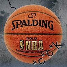 灣仔門市交收全新SPALDING 斯伯丁 金章,金牌 NBA籃球 室內、室外 NBA Gold Series I/O Basketball