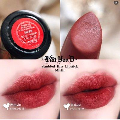 💯 預購 KAT VON D Studded Kiss Crème Lipstick 唇膏(色號:Misfit)