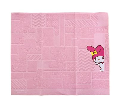 My Melody Sanrio 港版 壓紋圖案 眼鏡布 Cleaning Cloth (包本地平郵)