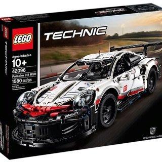 美國百分百 【全新真品】樂高 Lego 42096 保時捷 Porsche 911 RSR AF89