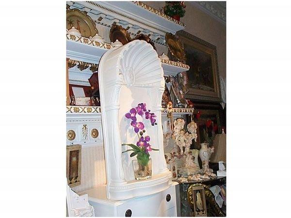 歐洲宮廷藝術精品-平面式壁櫥 壁龕 可放古董 盆景 盆栽 等多元化壁飾$11000