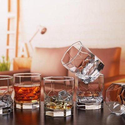 免運家用無鉛玻璃洋酒杯玻璃杯啤酒杯烈酒杯水杯威士忌酒杯yi   全館免運