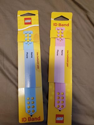 馬來西亞 樂高城 Legolsnd 絕版款手帶 名牌 手鈪 ID Band LEGO 手環 極具珍藏價值 珍藏版 LEGO 迷必購