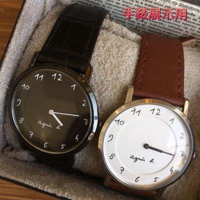 錶帶屋 特別訂製代用 agnes b 小b手錶 18mm收14mm 或 20mm 收16mm 薄 2mm真牛皮錶帶皮帶 高雄市