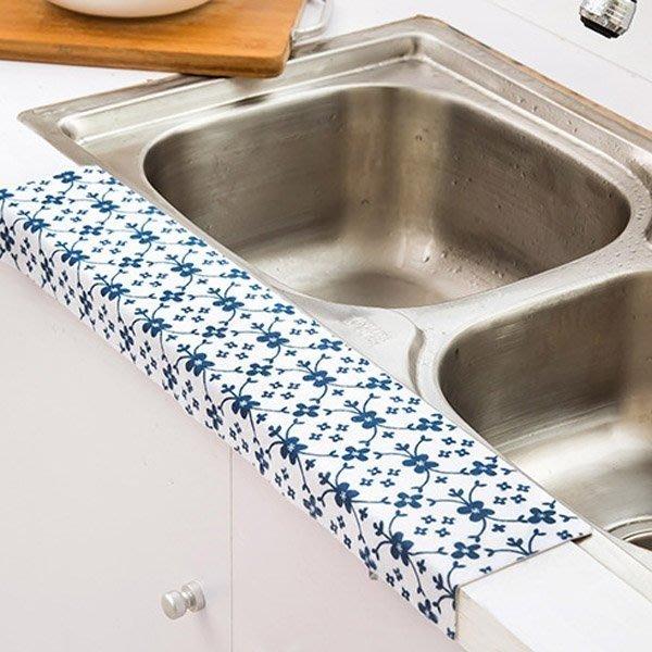 居家廚房浴室水槽防水靜電吸濕貼 防水貼【JH0830】《Jami Honey》