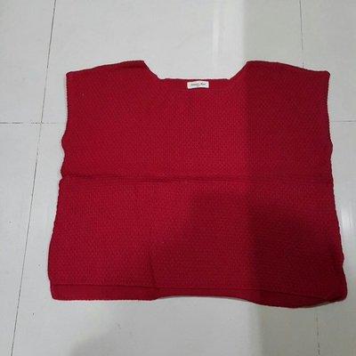 ☆nico小筑☆SM2-紅色短袖針織衫