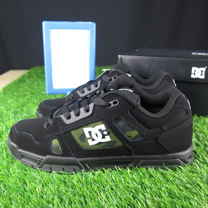 【iSport愛運動】 DC  STAG SP 滑板鞋 公司正品  100443BLM 男款 黑X迷彩綠