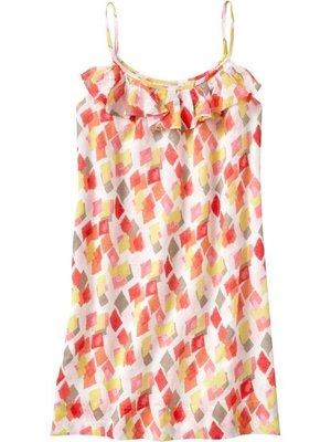 【美衣大鋪】R☆ OLD NAVY 正品☆ Ruffled Linen-Blend Dresses 美洋裝