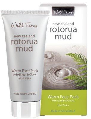 現貨~特價中~紐西蘭Wild Ferns【 Rotorua Warm Face Pack 火山泥 泥膜】90ml