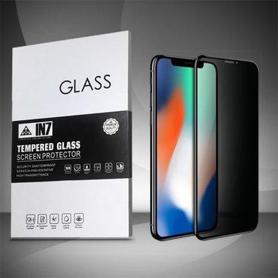 IN7 APPLE iPhone XS Max (6.5吋) 防窺3D全滿版9H鋼化玻璃保護貼 疏油疏水