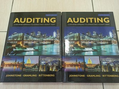 auditing: a risk based approach to conducting a quality audit  10e (審計原文書第十版)