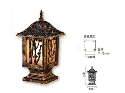 ~捷森照明~JO-Z-00092~ 戶  外  牆  柱  壁 燈 台南市