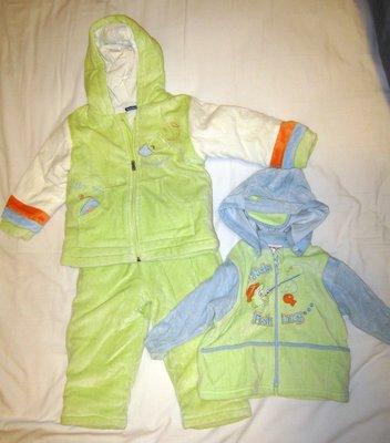 二手 義大利帶回 男幼童 套裝 三件組 12m