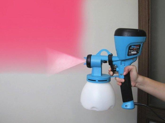 電動噴漆槍 保固+濾棉+口罩,雙噴頭TM-71水泥漆油漆強力膠 電動噴槍