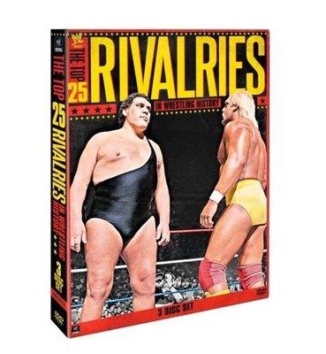 ☆阿Su倉庫☆WWE摔角 The Top 25 Rivalries in Wrestling History DVD 摔角史上最佳25大抗爭精選專輯