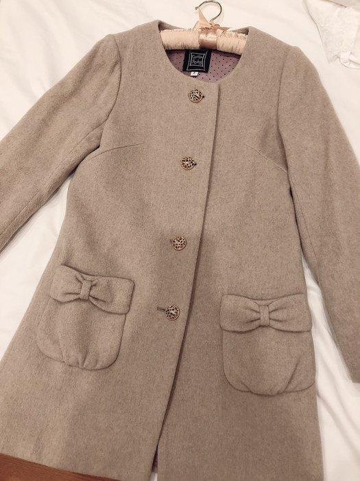 Cynthia Rowley 駝色羊毛外套