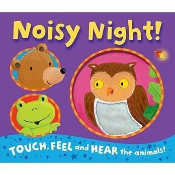 *小P書樂園* Noisy Night! 感官刺激有聲書
