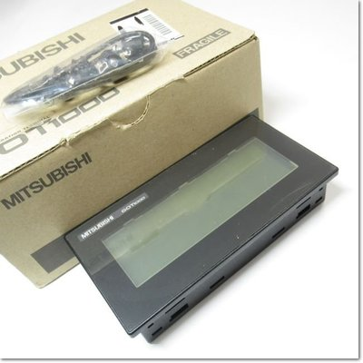 GT1030-LBD GOT主機顯示器4.5型[288 x 96] STN黑白/黑液晶(三菱電機) 中古 二手 GT1O3O-LBD GTl030-LBD GT