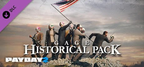 STEAM PAYDAY 2 : Gage Historical Pack DLC 劫薪日2 : 歷史包