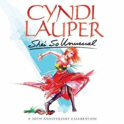 特價預購 Cyndi Lauper 辛蒂露波 She's So Unusual (日版高音質 Blu  2CD+DVD)