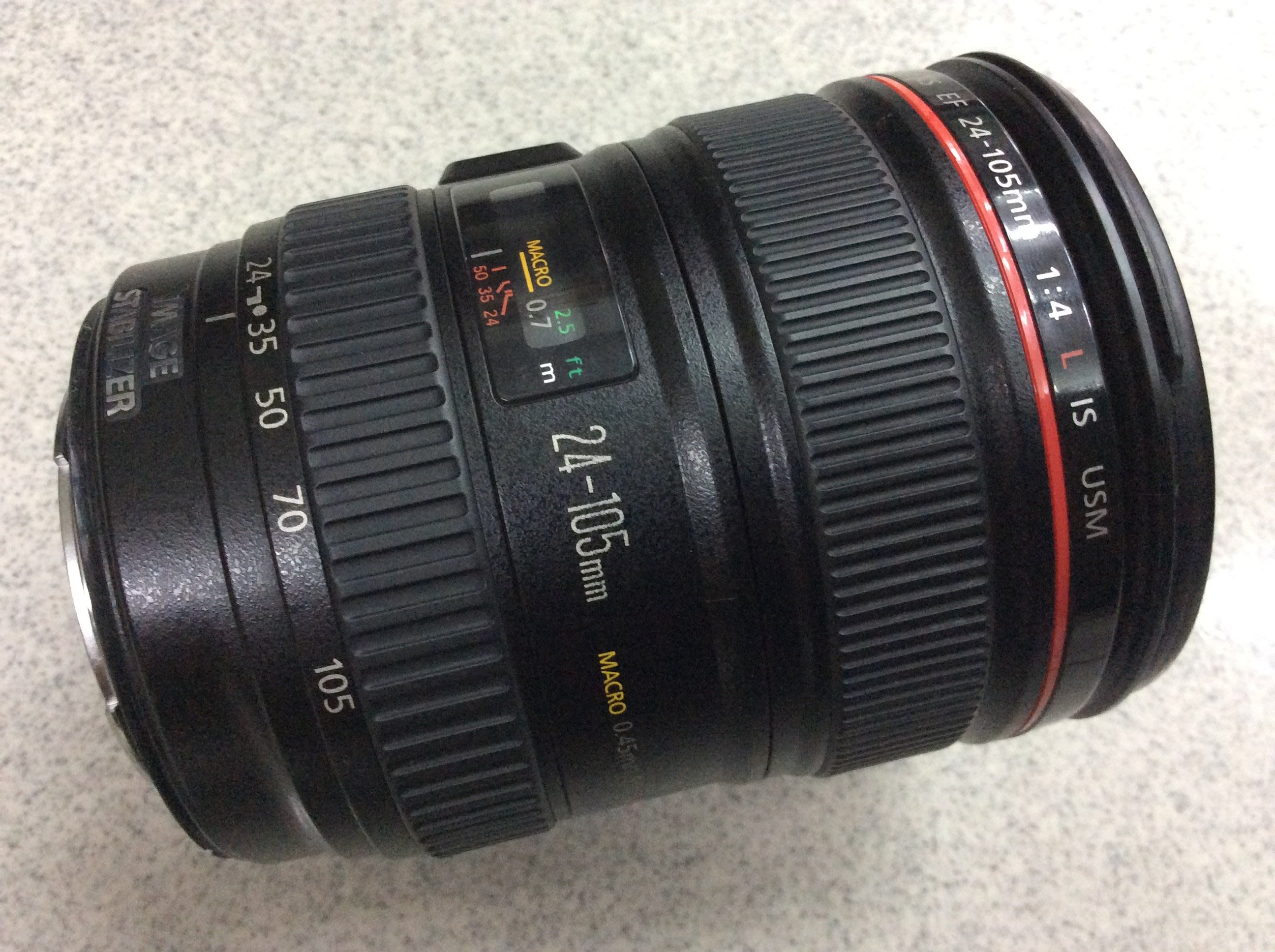 【明豐相機維修 ]  CANON EF 24-105mm F4 光圈排線故障 排線更換 光圈維修 24-70mm