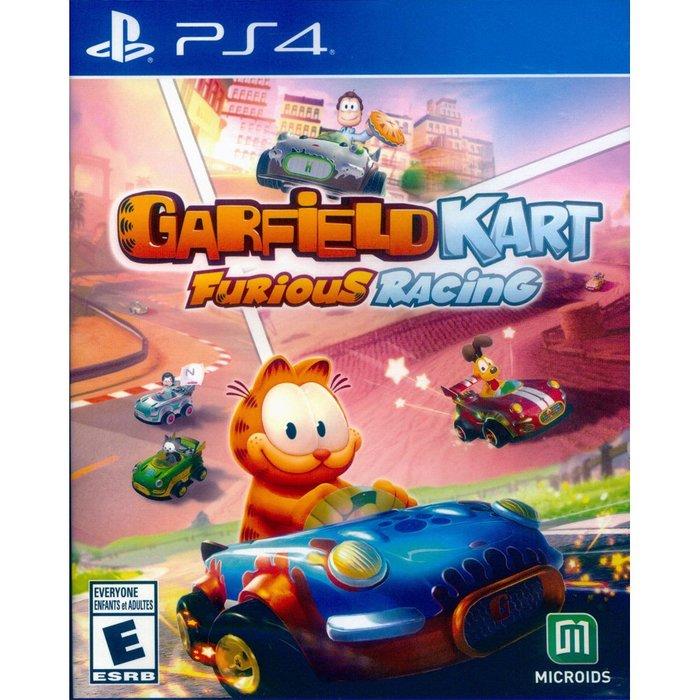 【一起玩】PS4 加菲貓卡丁車:瘋狂競速 英文美版 Garfield Kart: Furious Racing