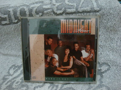 9. MIDNIGHT STAR  WORK IT OUT  EPIC  進口版