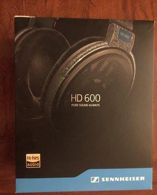 森海HD600升級版 HIFI高保真耳機 開放式頭戴