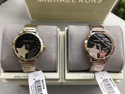 ☆美國Michael Kors代購網☆ MK3794 MK3795 新款五角星鏡面腕錶 MK女錶 MK手錶 正品附購證