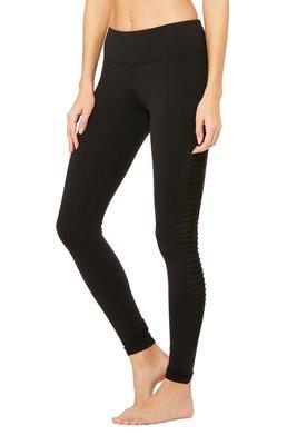 Alo yoga W5547R 好萊塢時尚瑜珈品牌 時尚彈力緊身褲 黑色 ❗❗❗