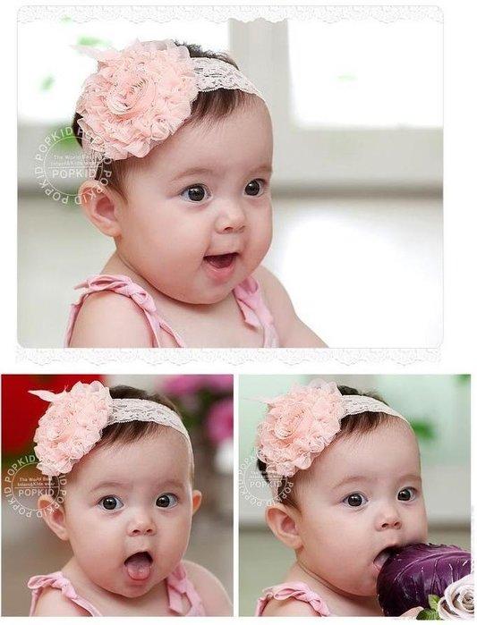 =寵喵百貨= 寶寶拍照必備 花朵蕾絲髮帶 大花朵蕾絲 寶寶髮帶 公主頭飾 嬰兒髮帶 蕾絲髮飾 拍照頭飾頭花