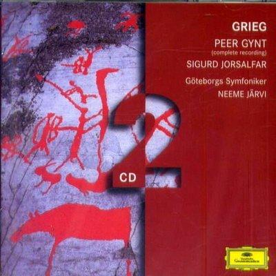 葛利格:皮爾金組曲-全輯 Peer Gynt,Sigurd Jorsalfar / 帕佛賈維  ---4775433