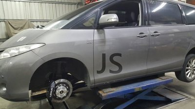 TOYOTA PREVIA 裝Lexus 430原廠卡鉗