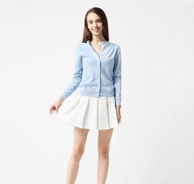 罩衫外套 純棉針織開衫女春秋薄款長袖外搭夏短款空調衫毛衣外套