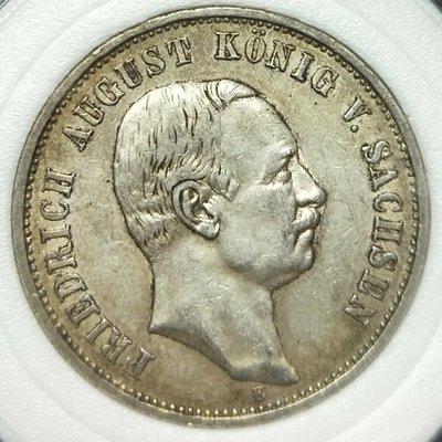1909年德國薩克森3馬克AU品項