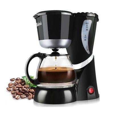 220v美式滴漏煮咖啡機全自動咖啡壺 家用小型